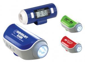 Flashlight Pedometer