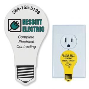 Light Bulb Shaped Outlet Safety Plug