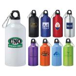 17 oz. Aluminum Water Bottle With Carabiner