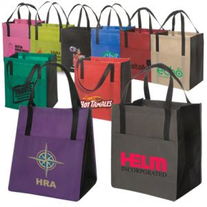 Duo Tone Shopper Tote Bag