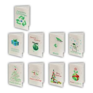 Environmentally Friendly Seeded Paper Holiday Cards