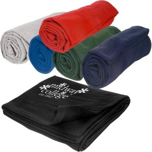 Sporty Sweatshirt Material Blanket
