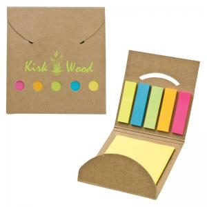 Sticky Note Recycled 5 Color Sticky Flag Set