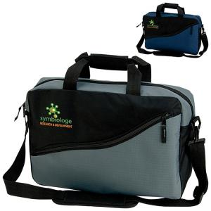 Shoulder Briefcase with Padded Laptop Sleeve