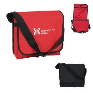 PVC-Lined Messenger Bag