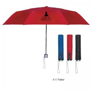 "42"" Pongee Folding Umbrella"