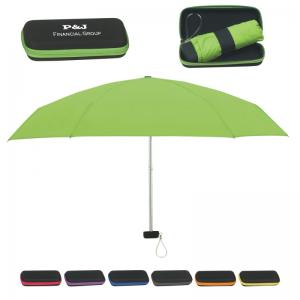 "37"" Travel Folding Umbrella"