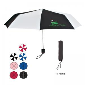 "43"" Mini Logo Folding Umbrella"