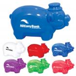 Mini Piggy Bank with Top Hat