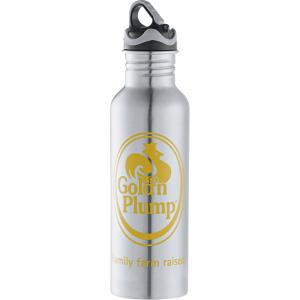 26 oz. Logo Stainless Steel Sports Bottle