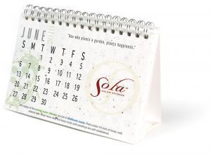 Seed Paper Desk Calendar