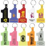 Number One Shaped Keytag
