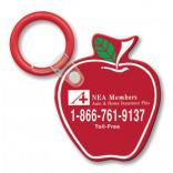Apple Shaped Keytag