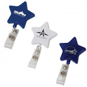Star Shaped Badge Holder