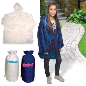 Hooded Rain Slicker w/ Bag