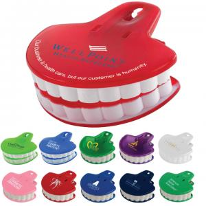Teeth Shaped Clip For Dental Marketing