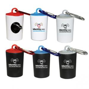 Mini Trash Can Pet Waste Bag Dispensers