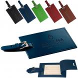 Color Leather Luggage Tag