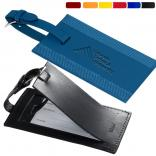 Sporty Leather Luggage Tag