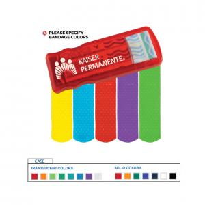 Bandage Dispenser W/ Color Bandages