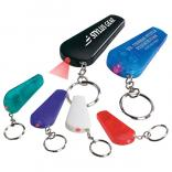 LED Light and Whistle Keychain