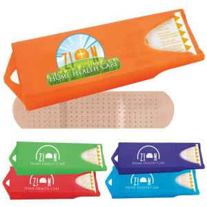 Full Color Bright Refillable Logo Bandage Dispensers