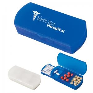 Deluxe Combination Bandage and Pill Dispenser