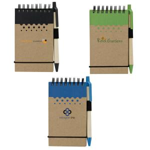 Recycled Mini Jotter and Pen