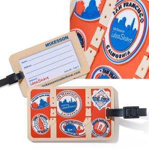 2-D Custom Luggage Tag
