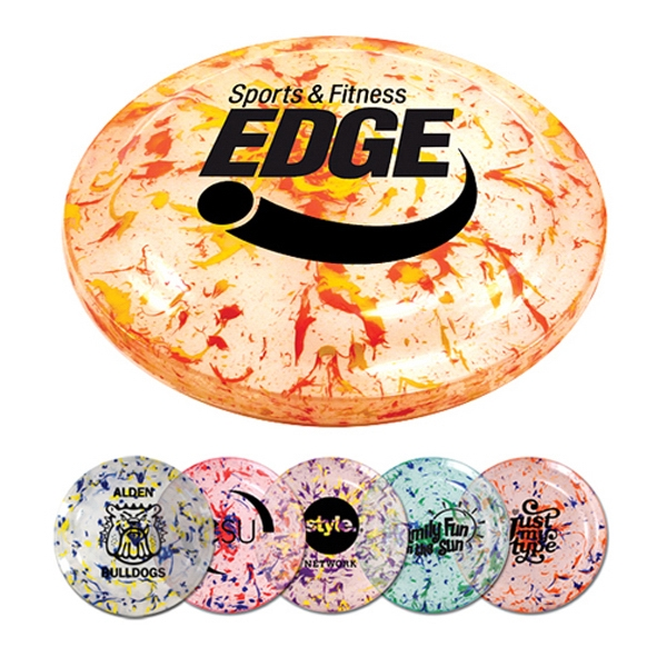 "9"" Splatter Paint Frisbee"