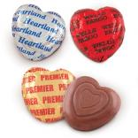 Belgian Milk Chocolate Hearts