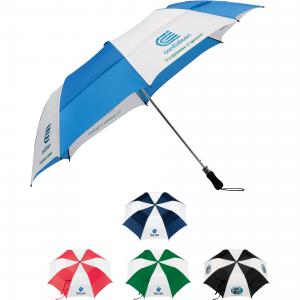 "58"" Vented Folding Golf Umbrella"