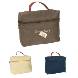 Cosmetic Case with Carrying Strap Handle