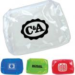 Clear Plastic Accessory Pouch