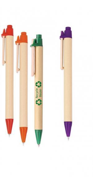 Eco-Friendly Click-Action Ballpoint Pen