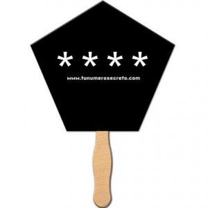 Pentagon / Church Shaped Hand Fan