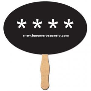 Oval Shaped Hand Fan