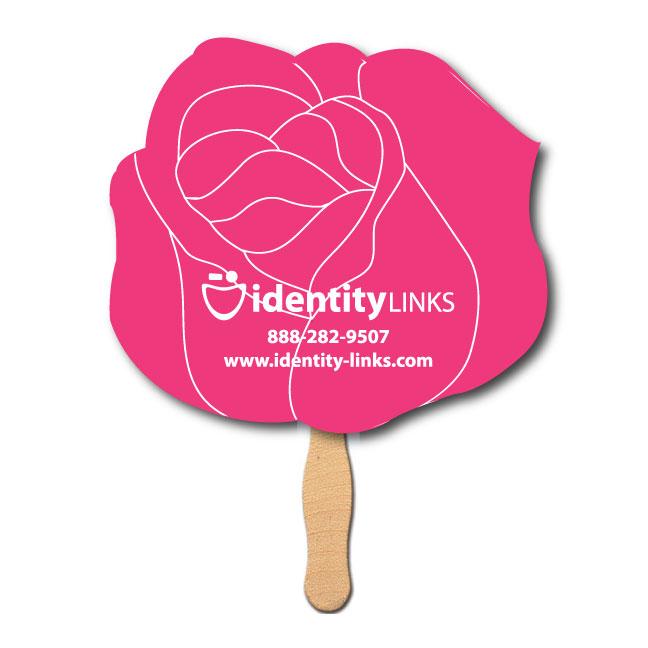 Rose or Flower Shaped Fan