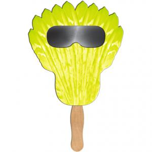 Feather Shaped Sun Shade Or Firework Fans