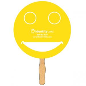 Smile Face Shaped Fan