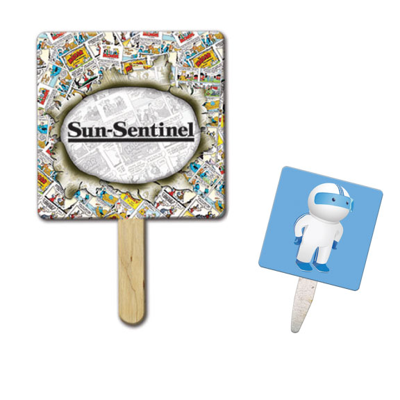 Square Shaped Mini or Seed Stick Fan