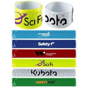 Reflective Slap Bands