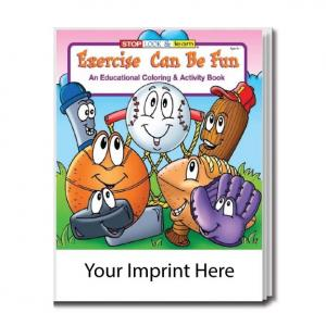 """Exercise Can Be Fun"" Coloring Book"