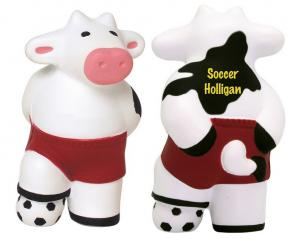 Soccer Ball Cow Stress Reliever