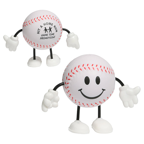 Happy Baseball Stress Reliever