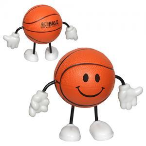 Basketball Stick Figure Stress Reliever