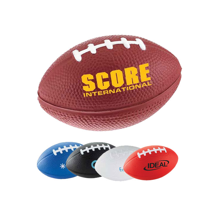 Squeezable Football Stress Reliever