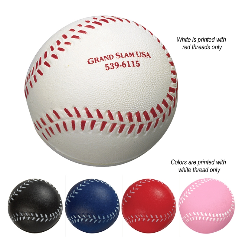 Squeezable Baseball Stress Reliever