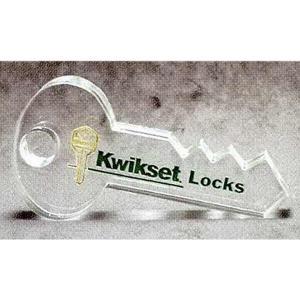 Key Shaped Acrylic Award