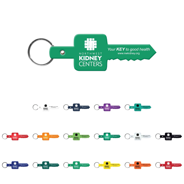 Key Shaped Key Tag